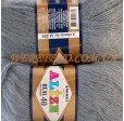 ANGORA REAL 40 87 средне-серый
