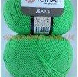 JEANS 60 зелёный неон