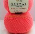 BABY COTTON 3460 коралловый неон