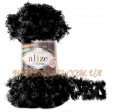 PUFFY FUR 6101 чёрный