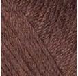 YARNART BABY COTTON 408 коричневый