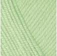 YARNART BABY COTTON 435 бледно-зелёный