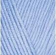 YARNART BABY COTTON 448 голубой