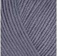 YARNART BABY COTTON 454 серый джинс