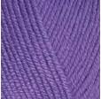 YARNART BABY COTTON 455 фиолетовый